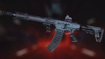 Typhoon F12 is a potent automatic shotgun up for crafting in «Armageddon»